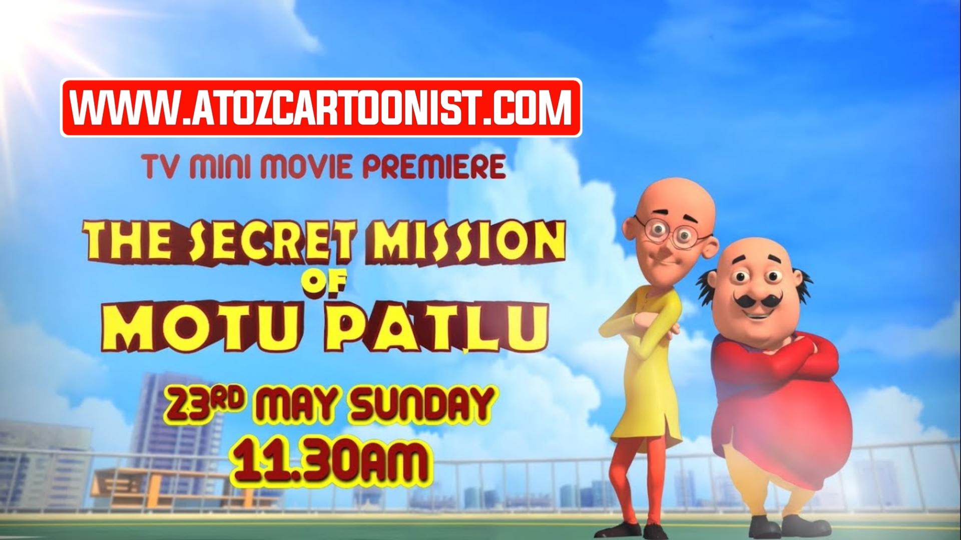 THE SECRET MISSION OF MOTU PATLU FULL MOVIE IN HINDI DOWNLOAD (480P & 720P)