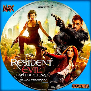 Resident Evil 6 Galleta Maxcovers