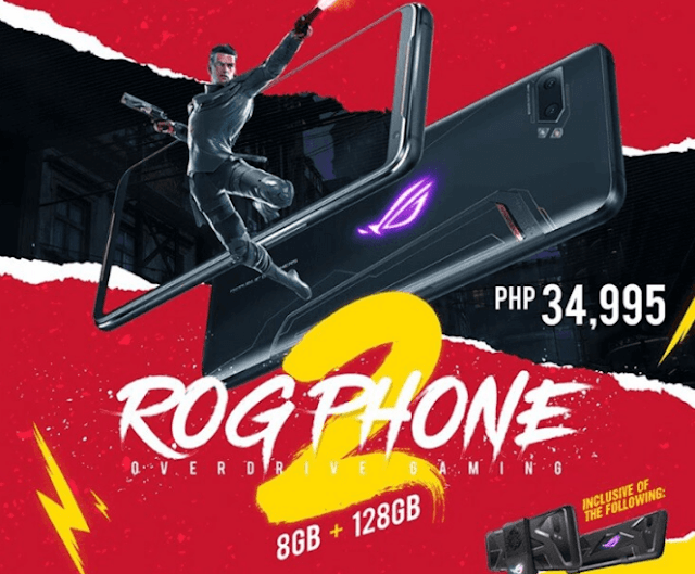 ASUS ROG Phone II Strix Edition now available in the Philippines, priced at PHP 34,995