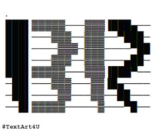 Baskin Robbins Logo ASCII Art Codes