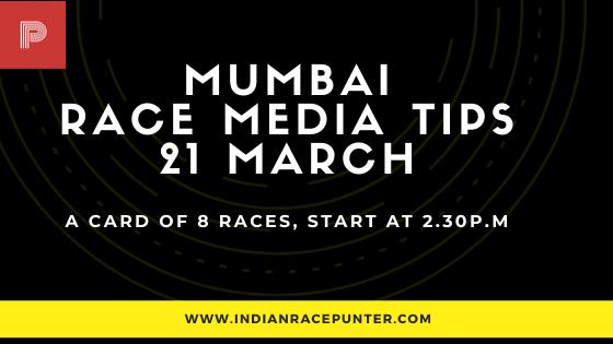 Mumbai Race Media Tips 21 March