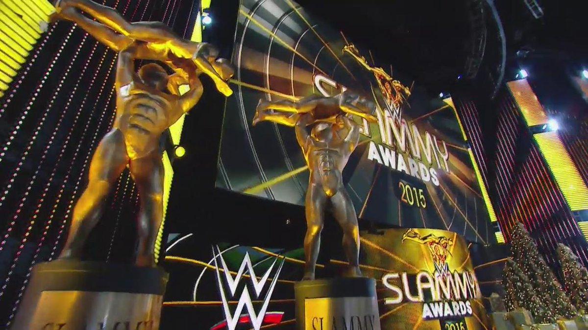 WWE anuncia o retorno do Slammy Awards