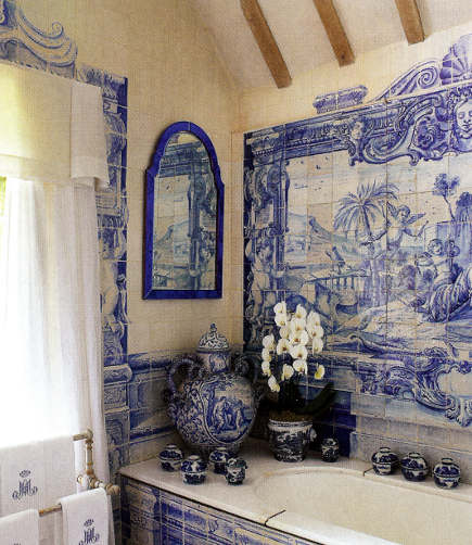 I Ve Got The Delft Blues Paint The Wall