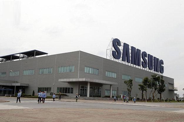 Một công nhân mắc COVID-19, cả phân xưởng Công ty Samsung bị phong tỏa