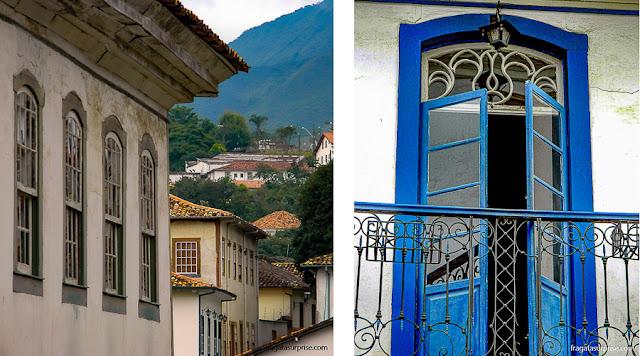Casarões coloniais de Ouro Preto