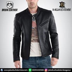 Jual Jaket Kulit Asli Garut Pria Domba Original Brida Leather B75 | WA 08813430588