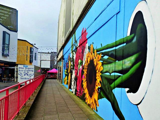St.Austell, Cornwall town centre mural