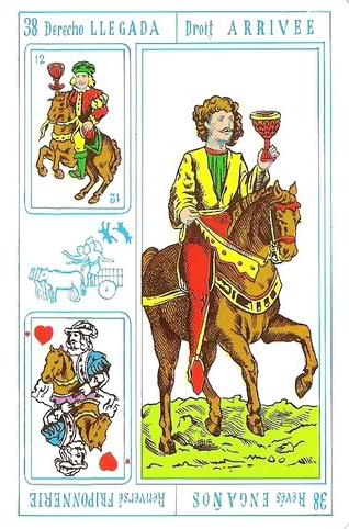Tarot Rey Thot: Nº 38 - Llegada - Engaños
