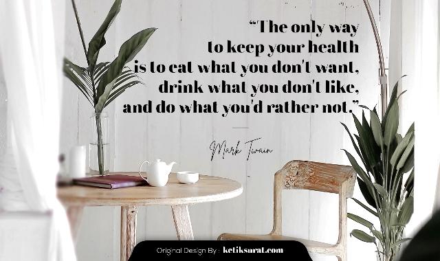 quotes untuk kesehatan