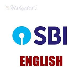 English Language For SBI Clerk | 22- 06 - 18