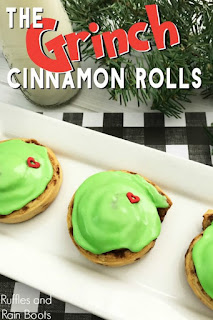 the Grinch themed recipes