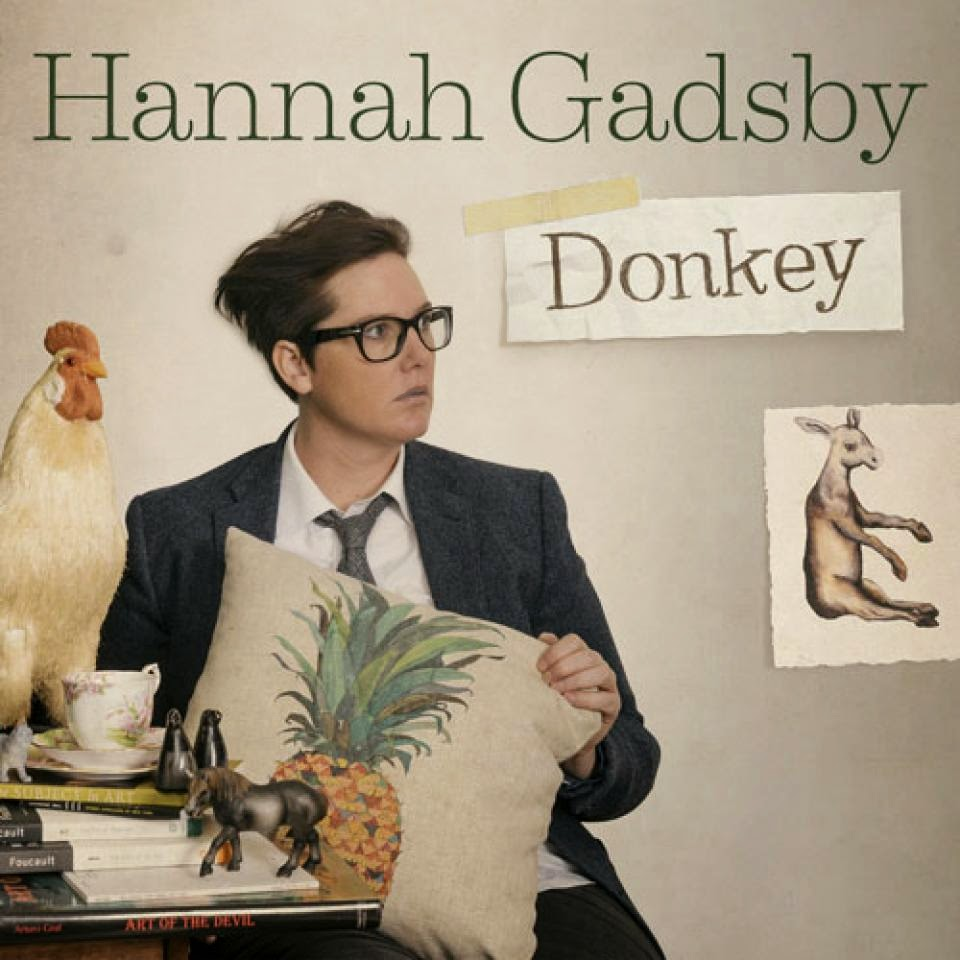 Hannah Gadsby promotional poster - Melbourne International Comedy Festival