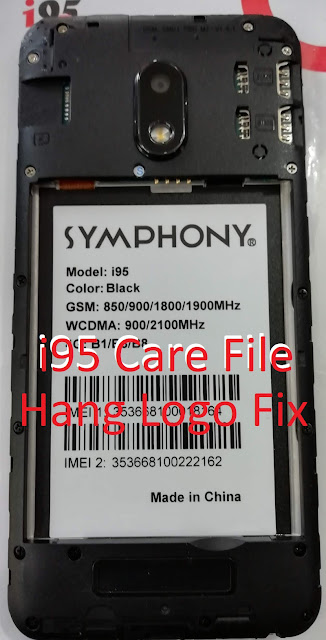 Symphony i95 Firmware Flash File