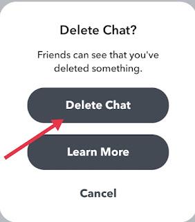 Snapchat Message Delete Kaise Kare