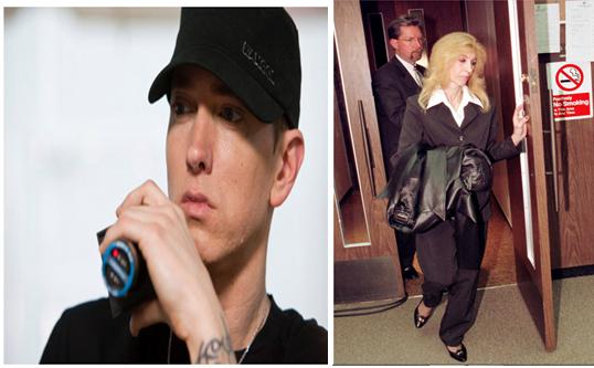 Eminem Finally apologises to his mumDebbie Mathers Reaction To Headlights
