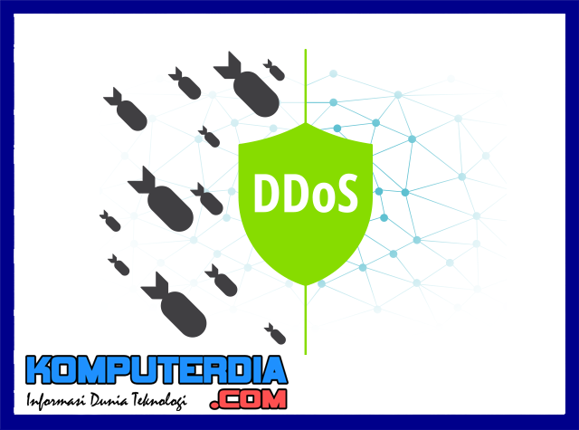 Pengenalan dan Penjelasan Serangan DDOS, The Digital Nuke