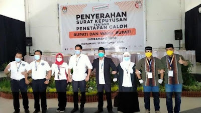 Resmi Ditetapkan KPU Indramayu, Keempat Pasangan Calon Akan Terima Nomor Urut pada 24 September