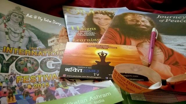 International Yoga Festival 2015 Yoga schedule - Parmarth Niketan Ashram in Rishikesh