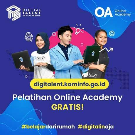 Beasiswa Pelatihan 2020 Online Academy