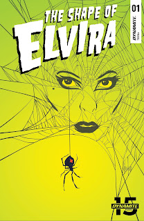 Cover C of The Shape of Elvira #1 from Dynamite Entertainment