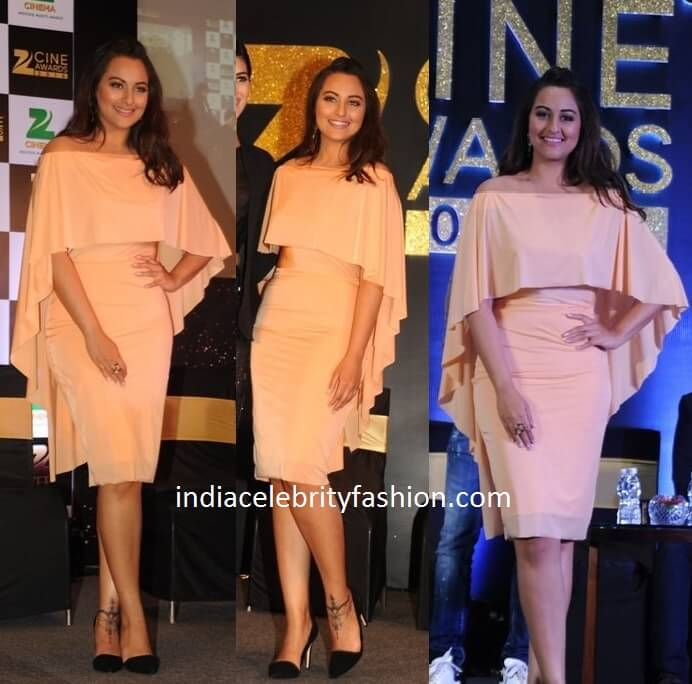 Sonakshi Sinha in Shivan and Narresh Dress