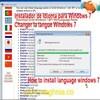 Idioma para Windows 7