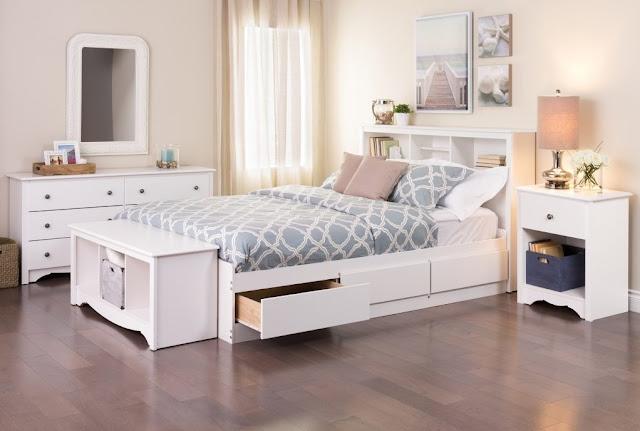 Mẫu giường ngủ với thiết kế 2 tầng đẹp ấn tượng.
