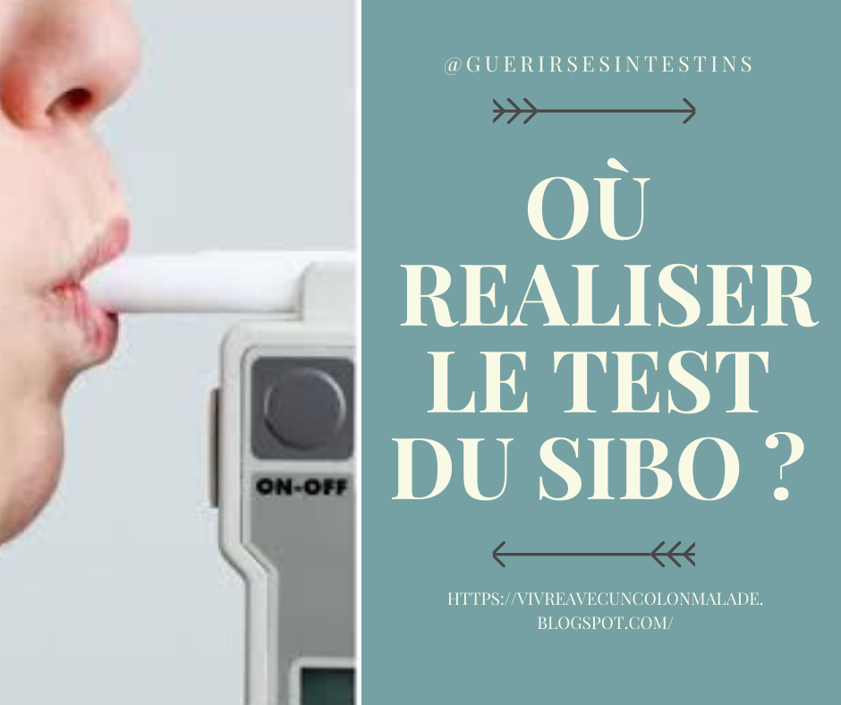 où réaliser le test respiratoire du SIBO (breath test) en France