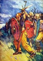 Ataque guerreros cimbrios