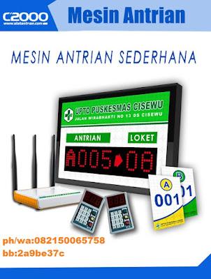 Mesin Antrian Malang C2000