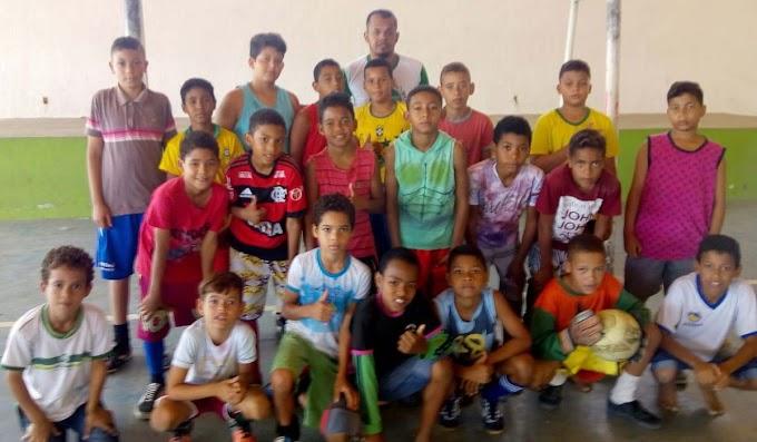Secretaria Municipal de Esporte desenvolve projeto social com crianças em Jacobina