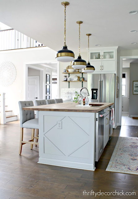 How to add some character to kitchen island