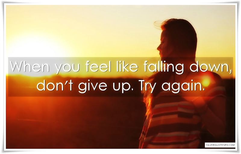 When You Feel Like Falling Down
