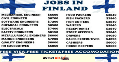Jobs In Finland
