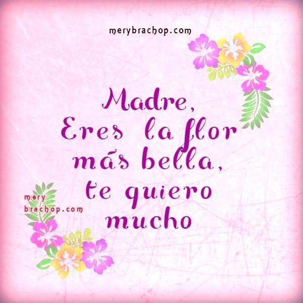 frases de te quiero para mama madre