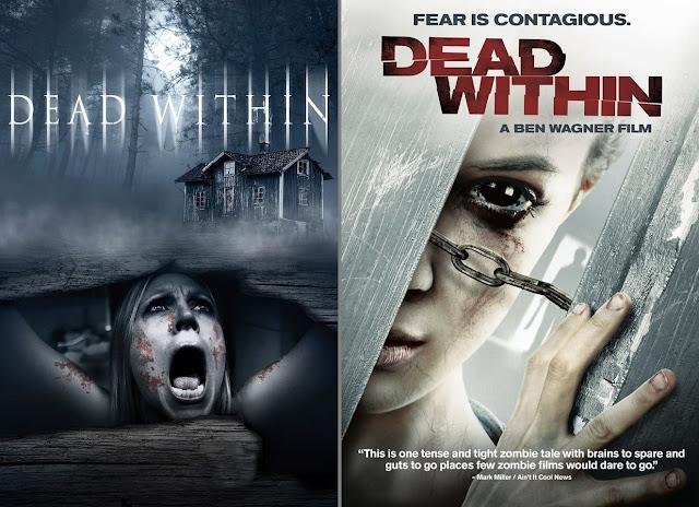 Dead within: poster italiano (sx) ed estero (dx)
