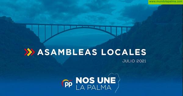 El PP de La Palma acuerda la renovación de sus comités locales