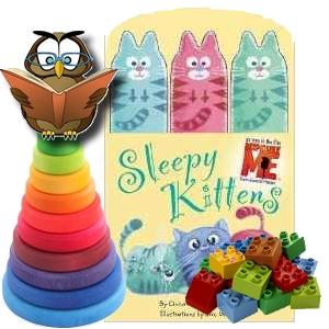 sleepy kittens trois 3 petits chatons moi moche et méchant Despicable me book