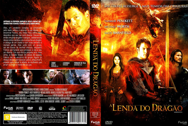 Capa DVD A Lenda do Dragão