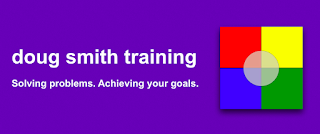 image: doug smith training solving problems achieving your goals