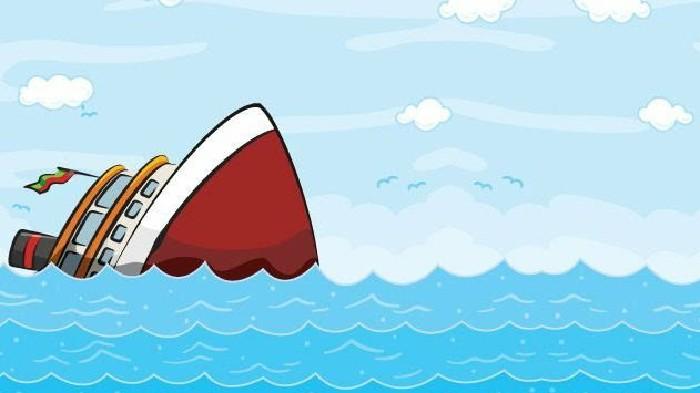 Dihantam Ombak 4 Meter, KLM Halma Jaya Tenggelam di Laut Flores, 3 ABK Hilang