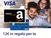 "Amazon ""Visa ha una sorpresa per te "" : un buono Amazon da 12 euro"