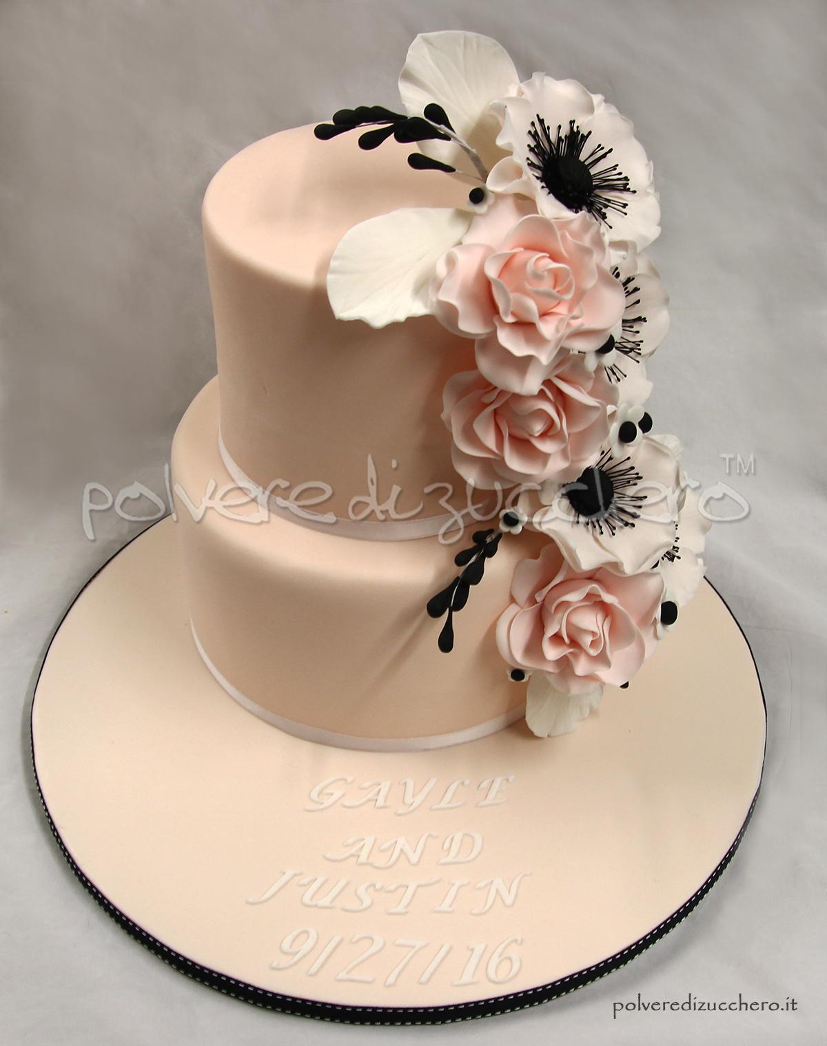 Wedding cake for Design a 2 piani