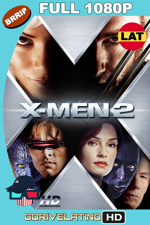 X-Men 2 (2003) BRRip 1080p Latino-Ingles MKV