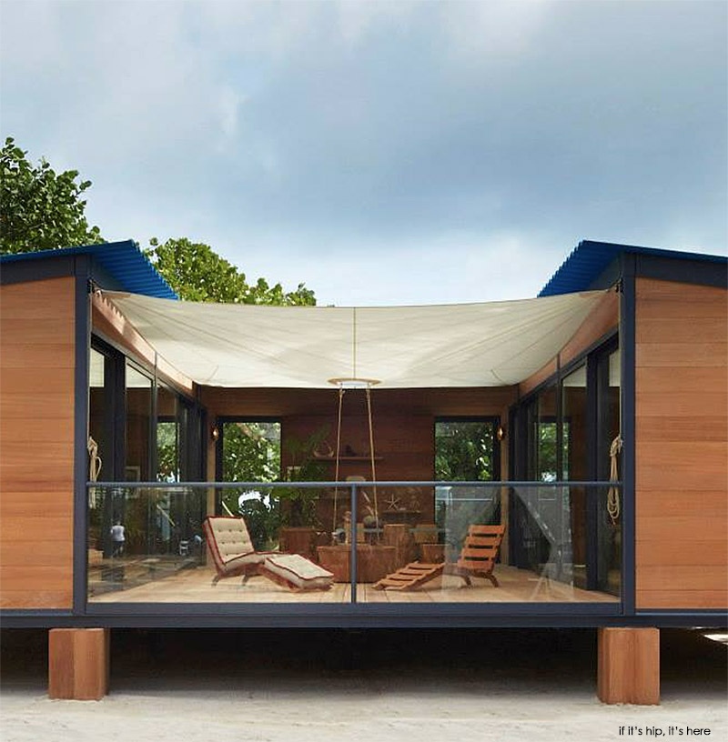 If it 39 s hip it 39 s here archives louis vuitton brings for Eco beach house designs