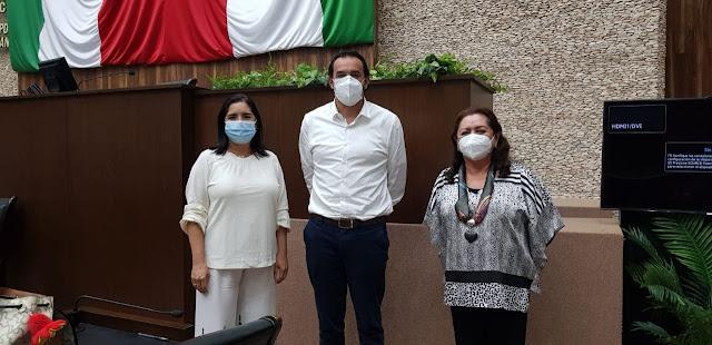 Diputadas de Fuerza por México cuestionan a funcionarios estatales. Antonio Sánchez