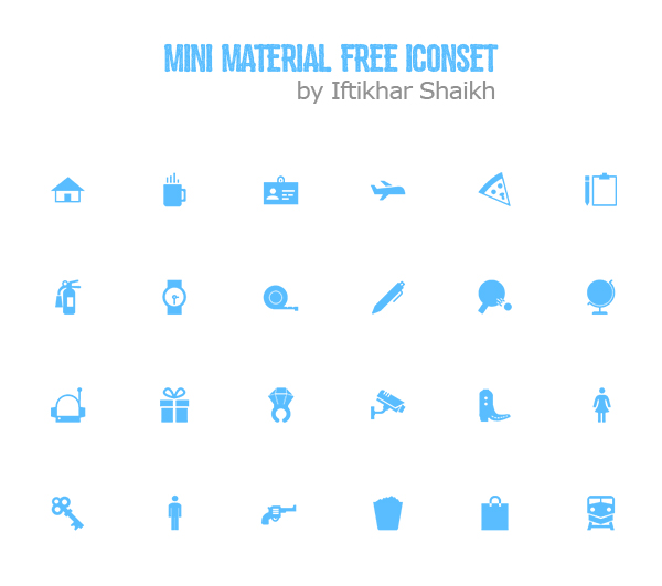 Material Design Free Icons for Android, iOS and Web UI Design
