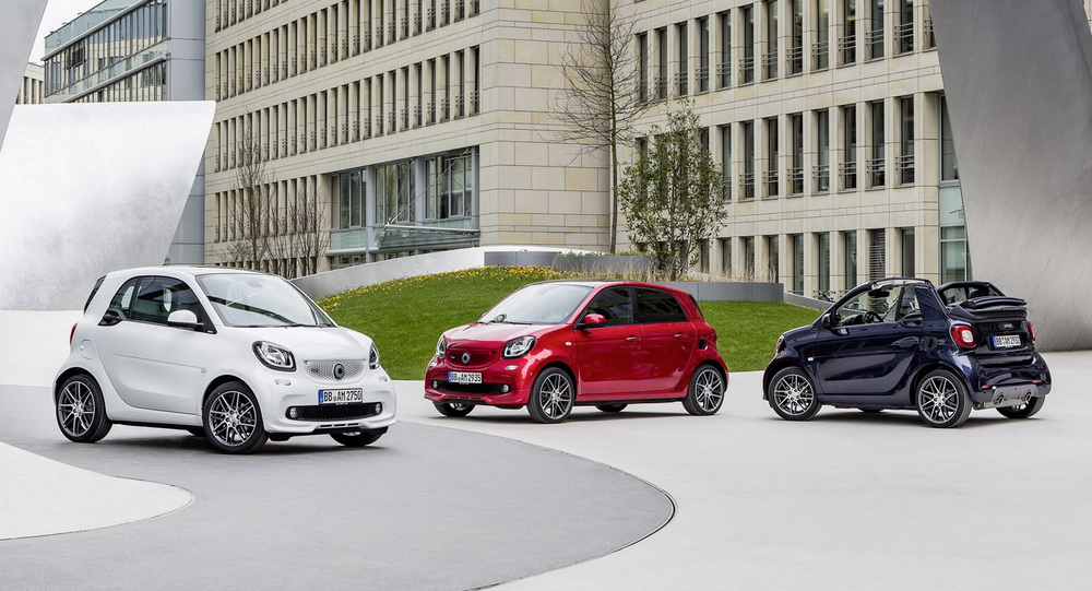 new car launches in germanyNew 109HP Smart Brabus Launched Priced From 19710 In Germany