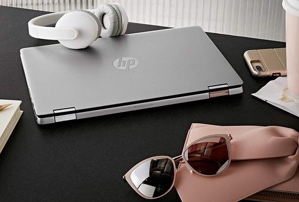 HP Pavilion x360 14-dh0006ns: convertible 4 en 1 de 14'' con procesador Core i7 y gráfica GeForce MX250 (2 GB)