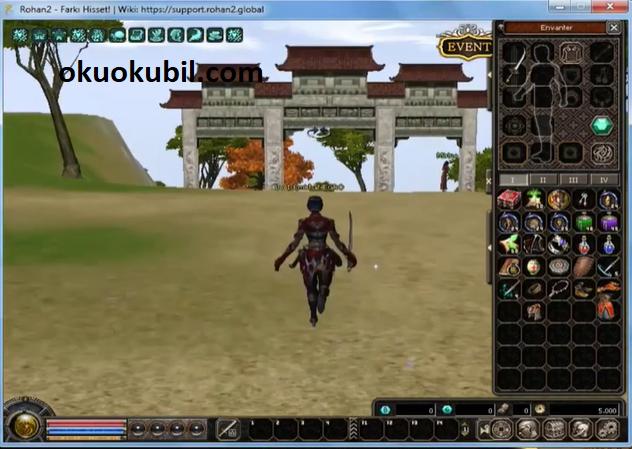 Rohan2 İsengard Negro v1.0 Onehit Atak,Tek Atma,Saldırı Hızı Hilesi İndir